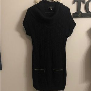 Black Alfani knit dress size M.